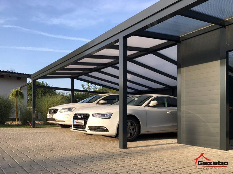 Economy+ aluminium-carport